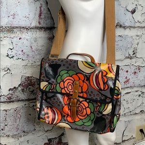 Fossil floral crossbody purse satchel